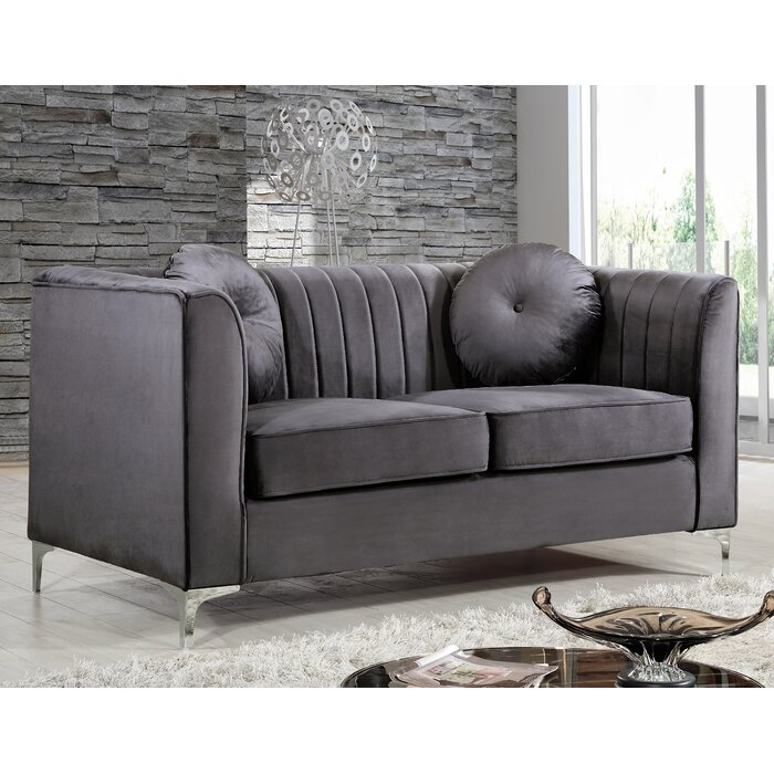 Herbert Chesterfield Loveseat [Best Futon loveseat