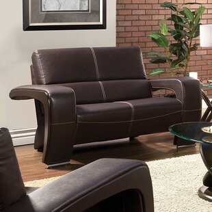 Find for Brutus Leather Loveseat by Orren Ellis Reviews (2019) & Buyer's Guide