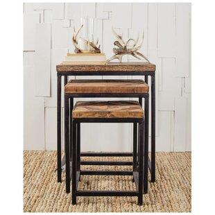 Osborne 3 Piece Nesting Tables Union Rustic