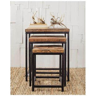 Best Osborne 3 Piece Nesting Tables by Union Rustic
