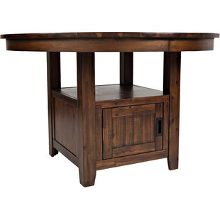 Best Reviews Oilton Counter Height Dining Table By Loon Peak