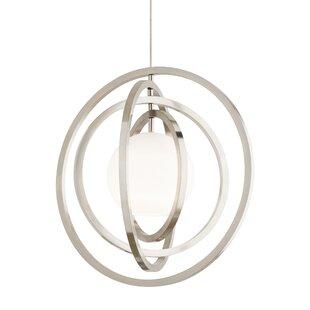 Strauch 1-Light Globe Pendant by Orren Ellis