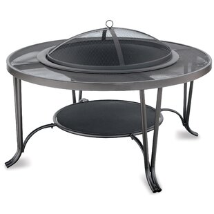 Cast Iron Wood Burning Fire Pit By Endless Summer