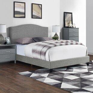 Cassandra Upholstered Low Profile Standard Bed