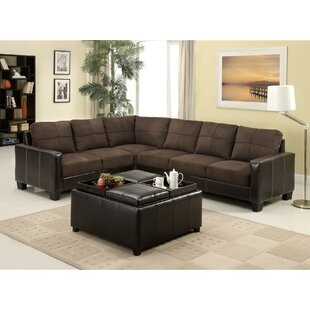 Koester Left Hand Facing Sectional with Ottoman by Red Barrel Studio