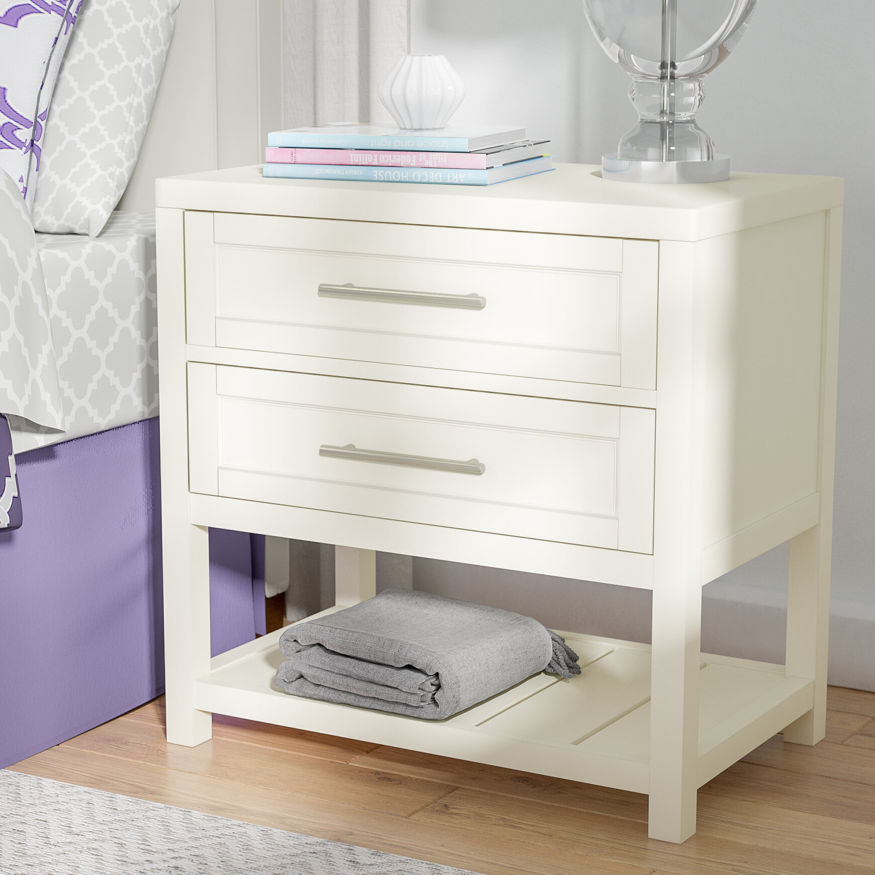 hot sale online d01d1 ff4e2 Greater Taree 2 Drawer Nightstand