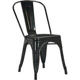 Tuckerman Metal Slat Back Side Chair (Set of 2) by Zipcode Design™