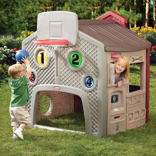 Affordable Endless Adventure Town 4.58' x 4.08' Playhouse ByLittle Tikes