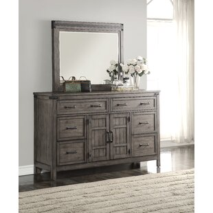Plains 6 Drawer Combo Dresser