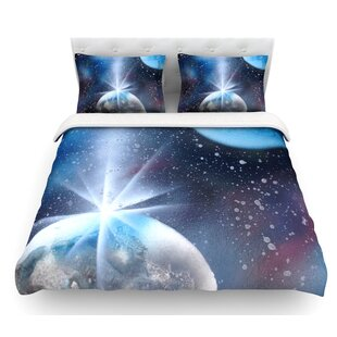 Intergalactic by Infinite Spray Art Featherweight Duvet Cover