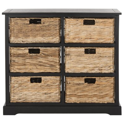 Clarion 6 Drawer Chest Color: Distressed Black by Beachcrest Home