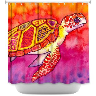 Dreyer Sea Turtle Spirit Single Shower Curtain
