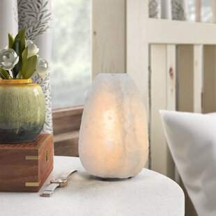 Multi-Colored Natural Himalayan Cordless Salt Lamp Rock Crystal Rechargeable(Built-in Battery) Remote Control 15colours Decorative Present for Friend