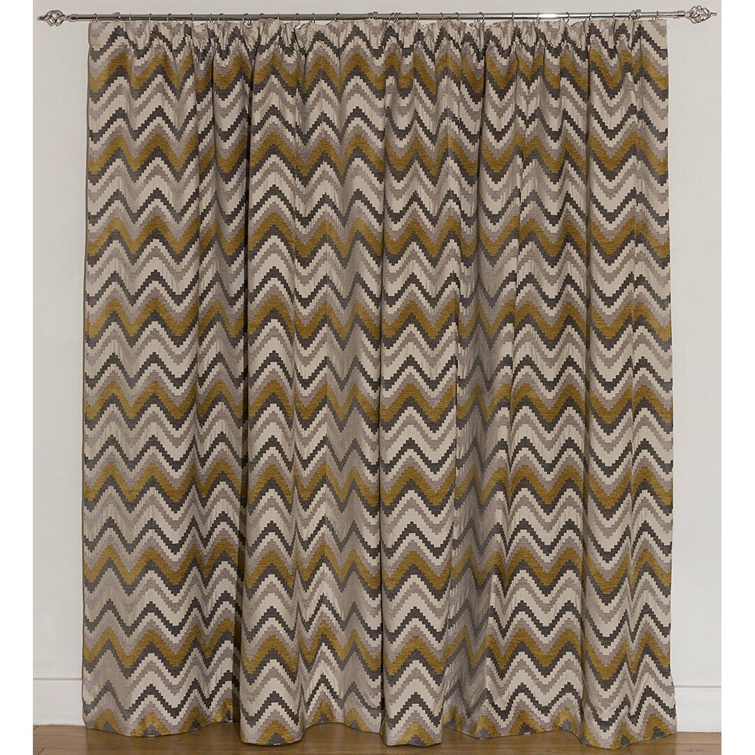 Cynthia Pencil Pleat Blackout Thermal Curtains