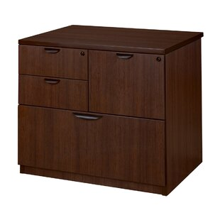 Latitude Run Linh Combo 4-Drawer Lateral Filing Cabinet