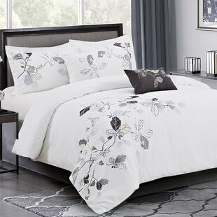 Gothenburg Embroidery 5 Piece Comforter Set