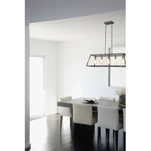 Industrial Light Fixtures For Kitchen Industrial pendant lights youll love wayfair agnes ii 5 light kitchen island pendant workwithnaturefo