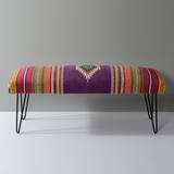 Upholstered Entryway Bench by Union Rustic