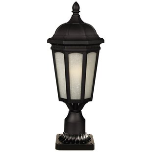 Laceyville Outdoor 1-Light Pier Mount Light by Charlton Home