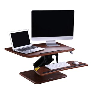 Symple Stuff Adjustable Standing Desk Con..