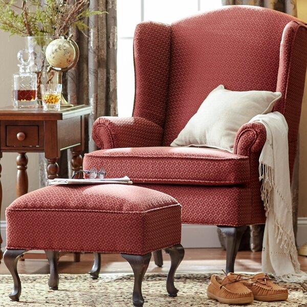 Red Chair And Ottoman | Wayfair