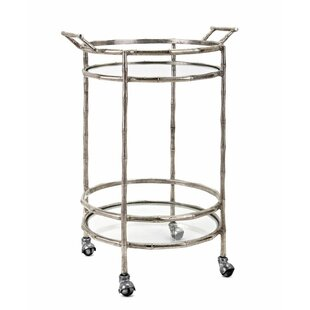 Soltis Aluminum Bar Cart by House of Hampton