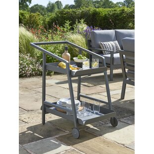 Wenzel Bar Serving Cart By Sol 72 Outdoor