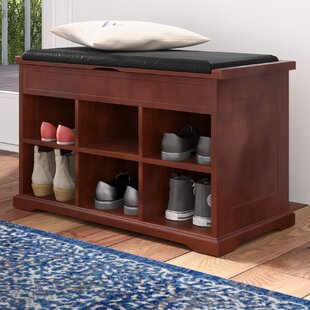Charlton Home Barrentyne Shoe Storage Bench