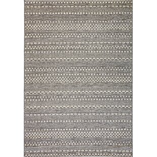 Compare Pennock Light Gray Indoor/Outdoor Area Rug By Union Rustic