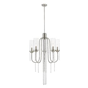 Liara 5-Light Shaded Chandelier by Mercer41