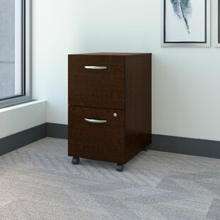 Bush Business Furniture Series C Elite 2-Drawer Mobile Vertical Filing Cabinet