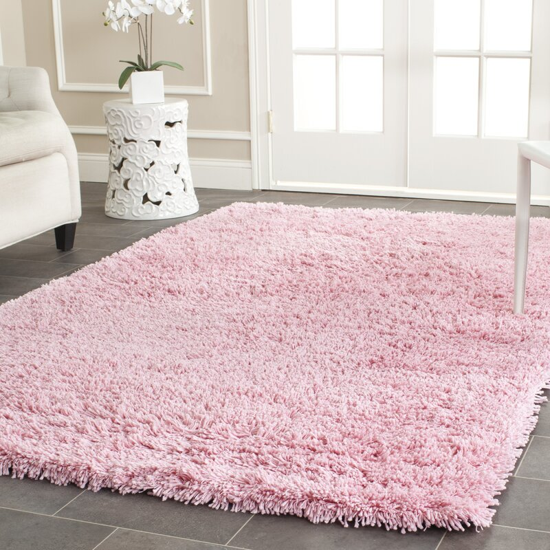 Cody Hand Loomed Pink Kids Rug