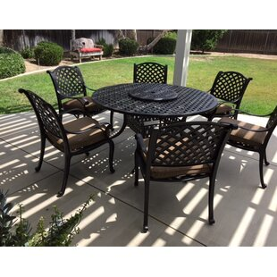 Middleburgh 8 Piece Dining Set with Cushions
