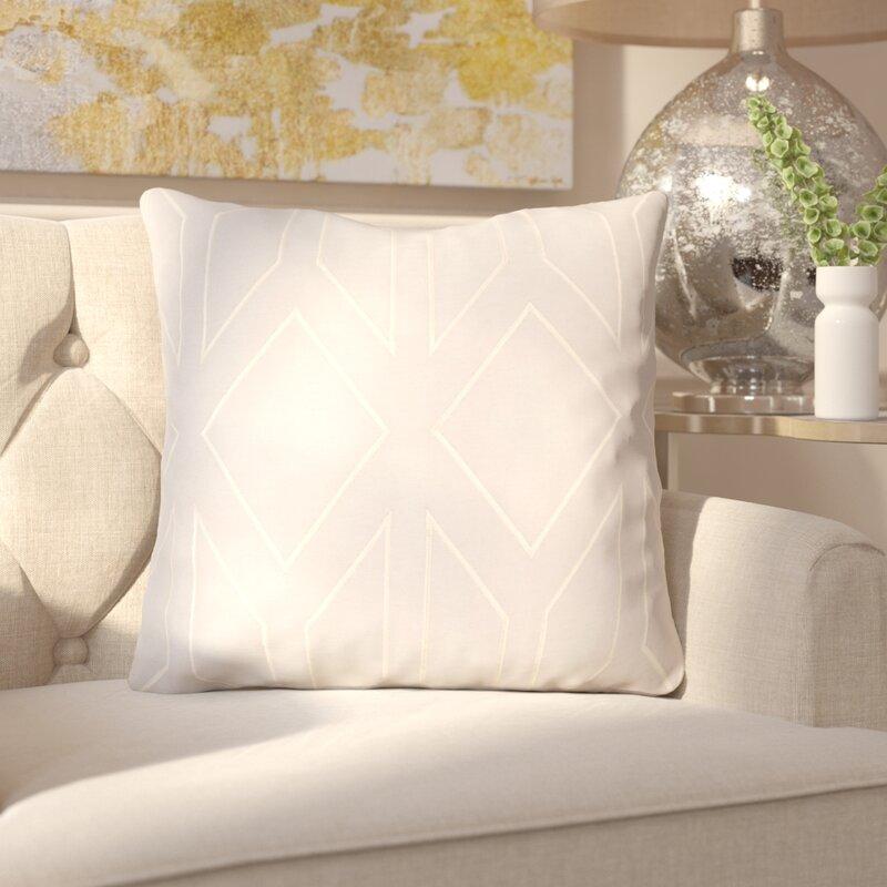 House of Hampton Honiton Linen Throw Pillow