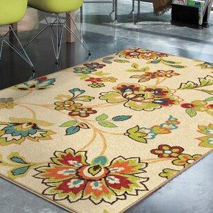 Oscar Beige Indoor/Outdoor Area Rug