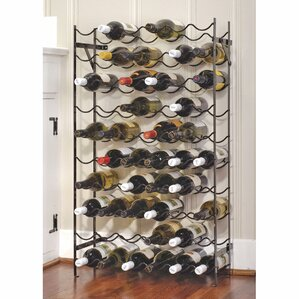 gresham 60 bottle floor wine rack