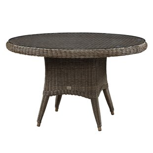 Sawyerville Glass Dining Table by Wildon ..