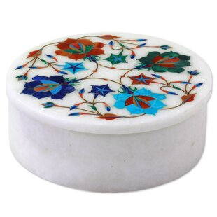Shop For Floral Jubilee Marble Jewelry Box ByRed Barrel Studio