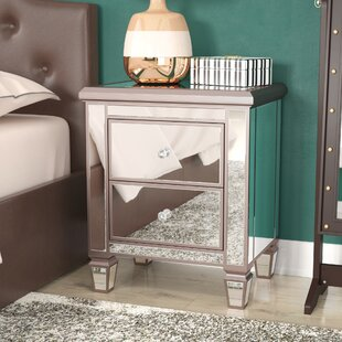 Laurine 2 Drawer Nightstand