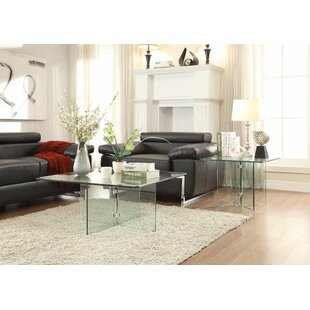 Sandiford 2 Piece Coffee Table Set Latitude Run