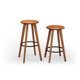 Spitzer Solid Wood 26-30 Seat Height Stool (Set of 2) by Corrigan Studio®