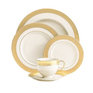 Westchester 5 Piece Fine Bone China Place Setting  sc 1 st  Wayfair & Elegant China Dinnerware Sets | Wayfair