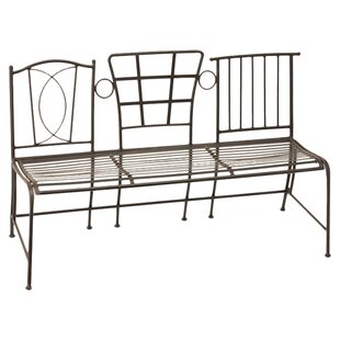 Evergreen Flag & Garden Miette Metal Bench