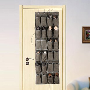 24 Pair Hanging Shoe Organizer