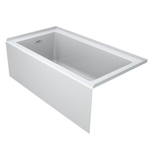 "Comfort 60"" x 32"" Alcove Soaking Bathtub"