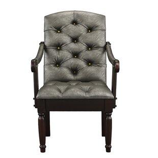 Charlton Home Diamondback Tufted Upholstered Dining Chair