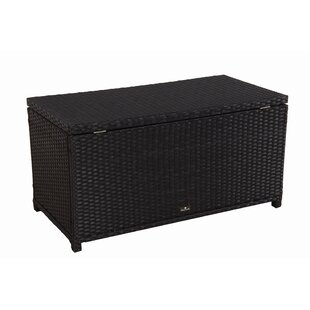 47 Gallon Rattan Deck Box by Broyerk