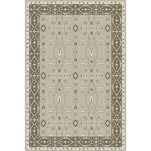 Fulham Hand-Tufted Sea Foam/Tan Area Rug