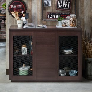 Abril Contemporary Buffet Table Gracie Oaks