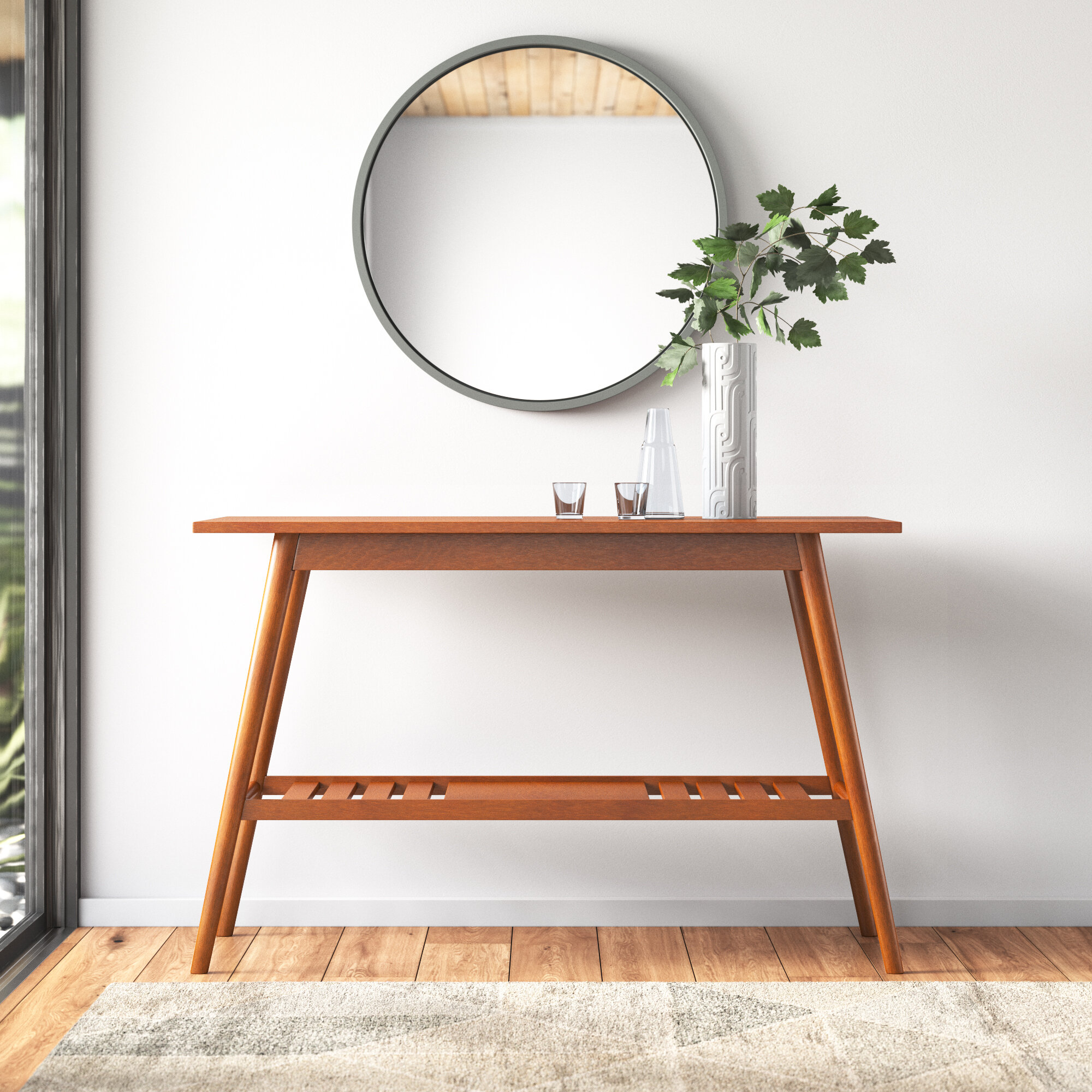 Maeve Solid Wood Console Table Reviews Allmodern